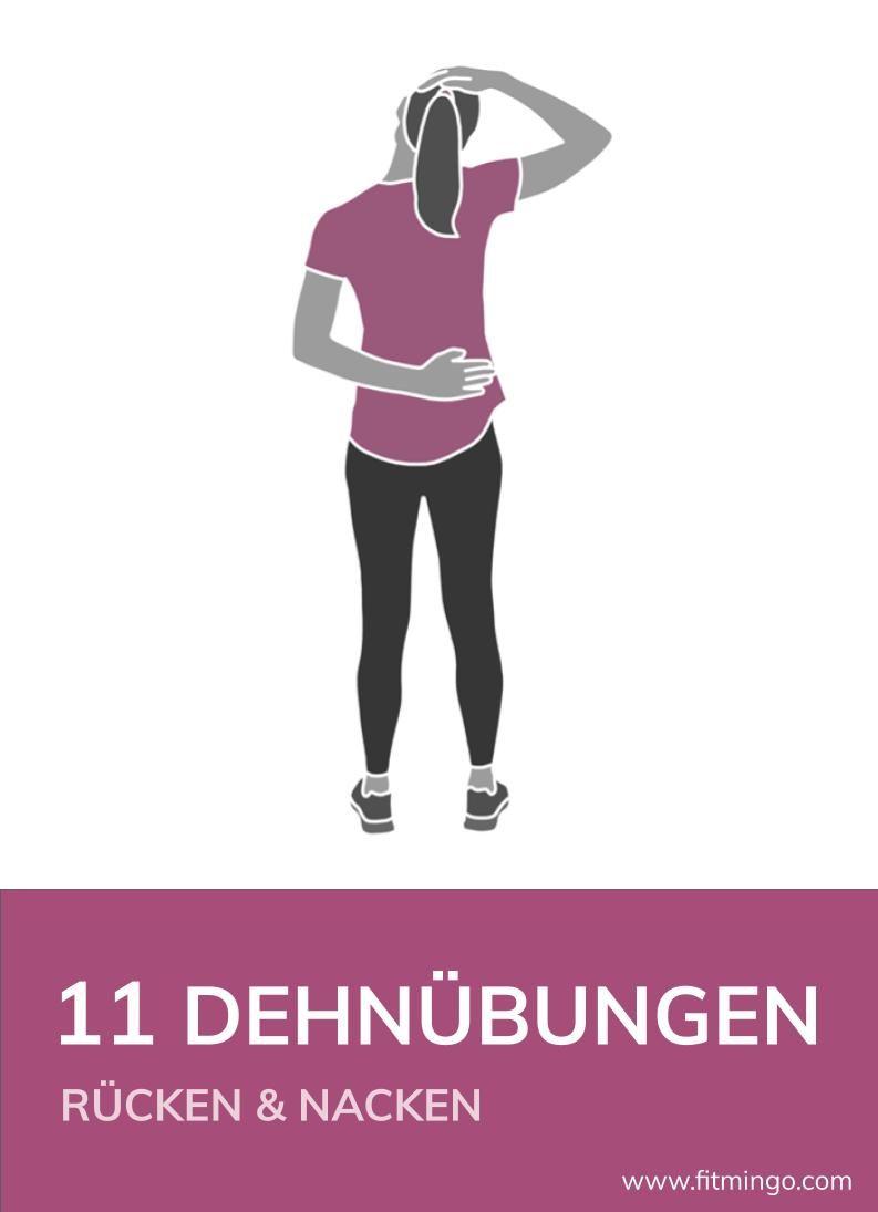 Photo of 11 Dehnübungen für Rücken und Nacken