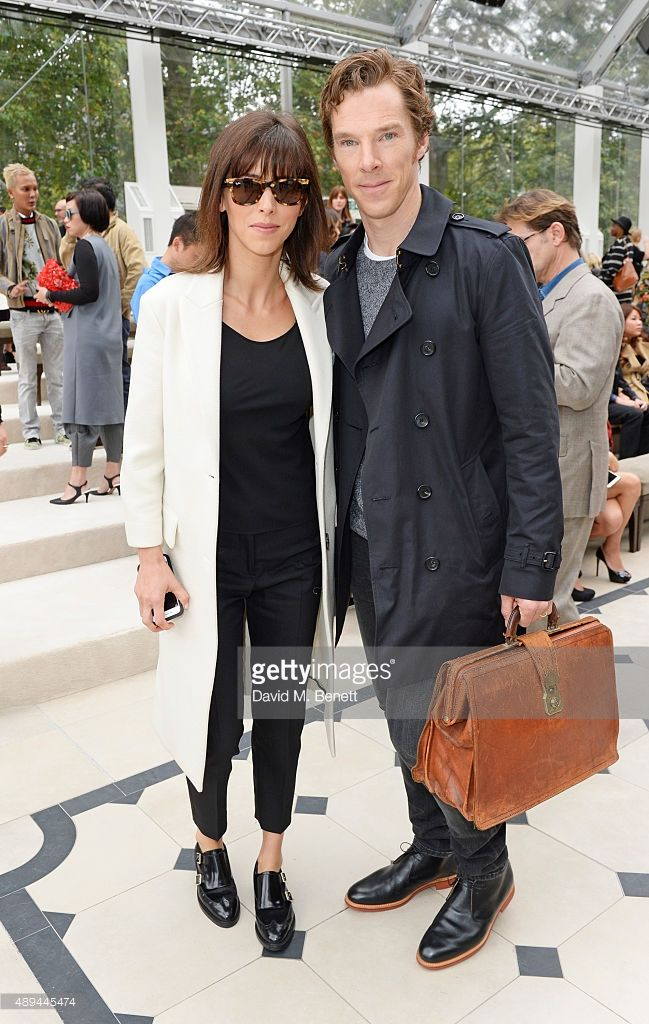 ニュース写真 : Sophie Hunter and Benedict Cumberbatch attend the...