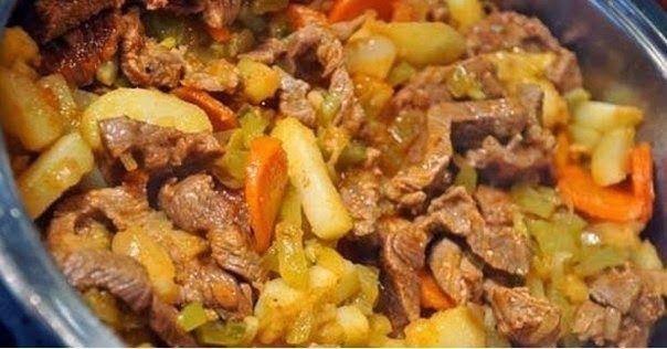 Шустрый повар.: Очень вкусное мясное азу
