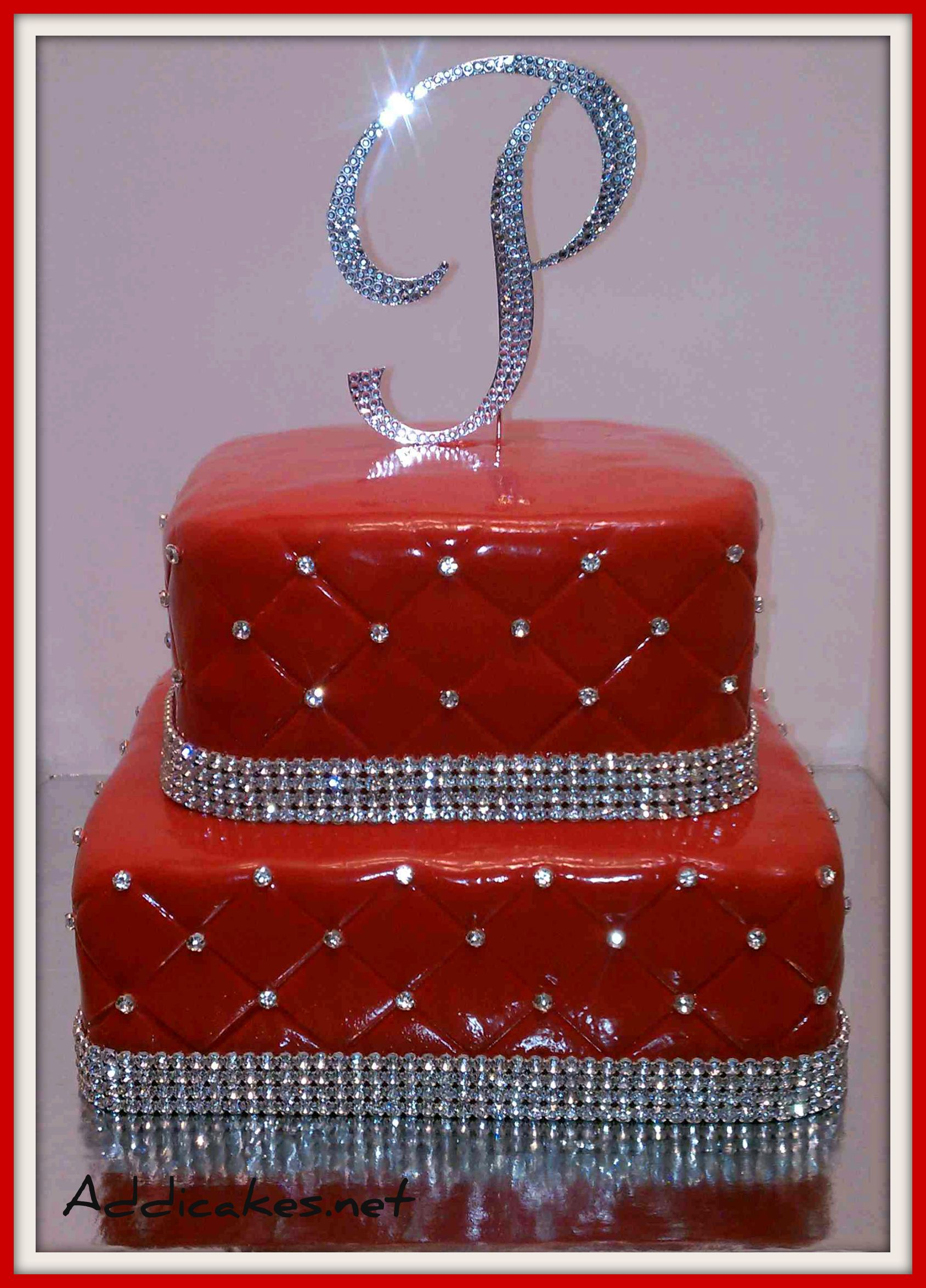 An Elegant Birthday Cake For A Young Lady