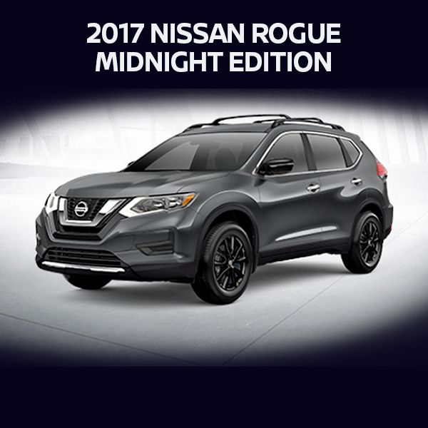 imagine the possibilities if you were in an all new 2017 nissan rogue midnight edition where. Black Bedroom Furniture Sets. Home Design Ideas