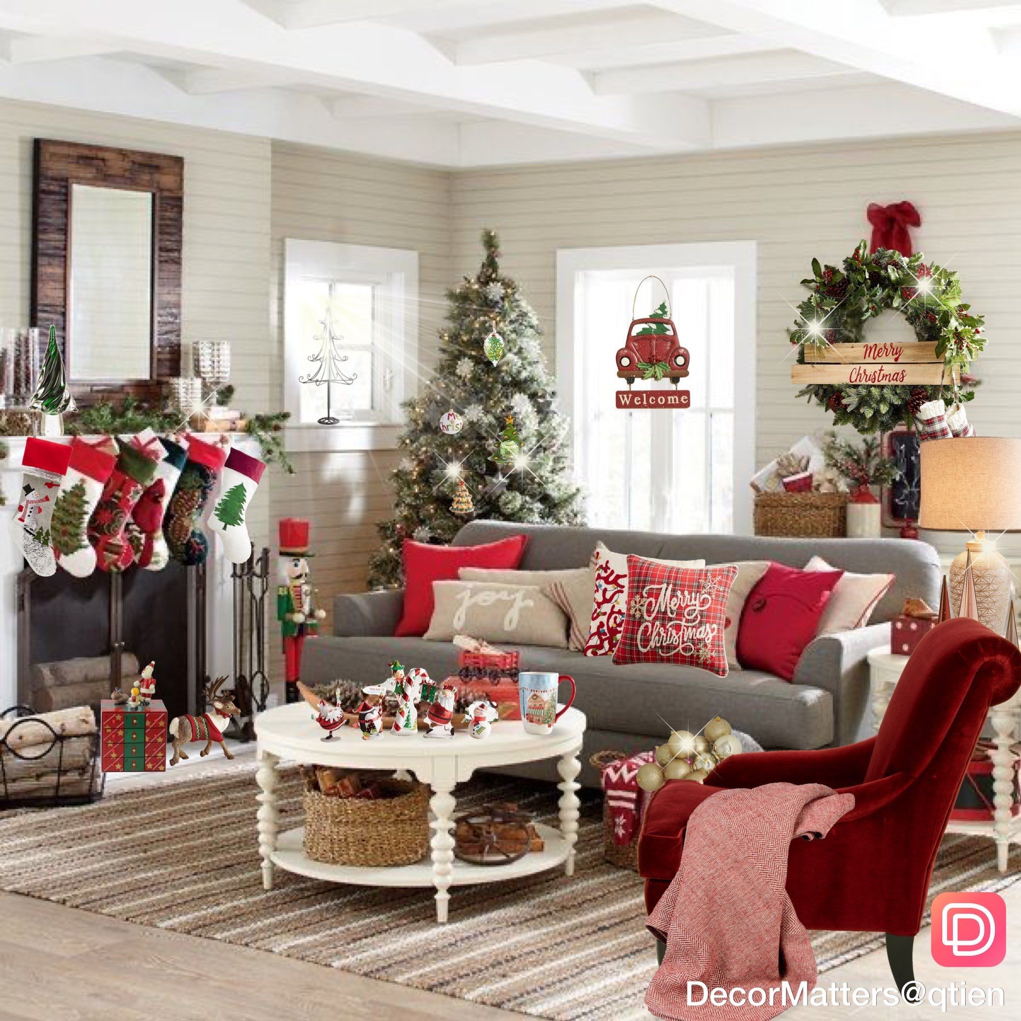5 Mobile Lightroom Presetsholiday Presetschristmas Etsy In 2021 Christmas Decorations Living Room Christmas Room Decor Christmas Living Rooms