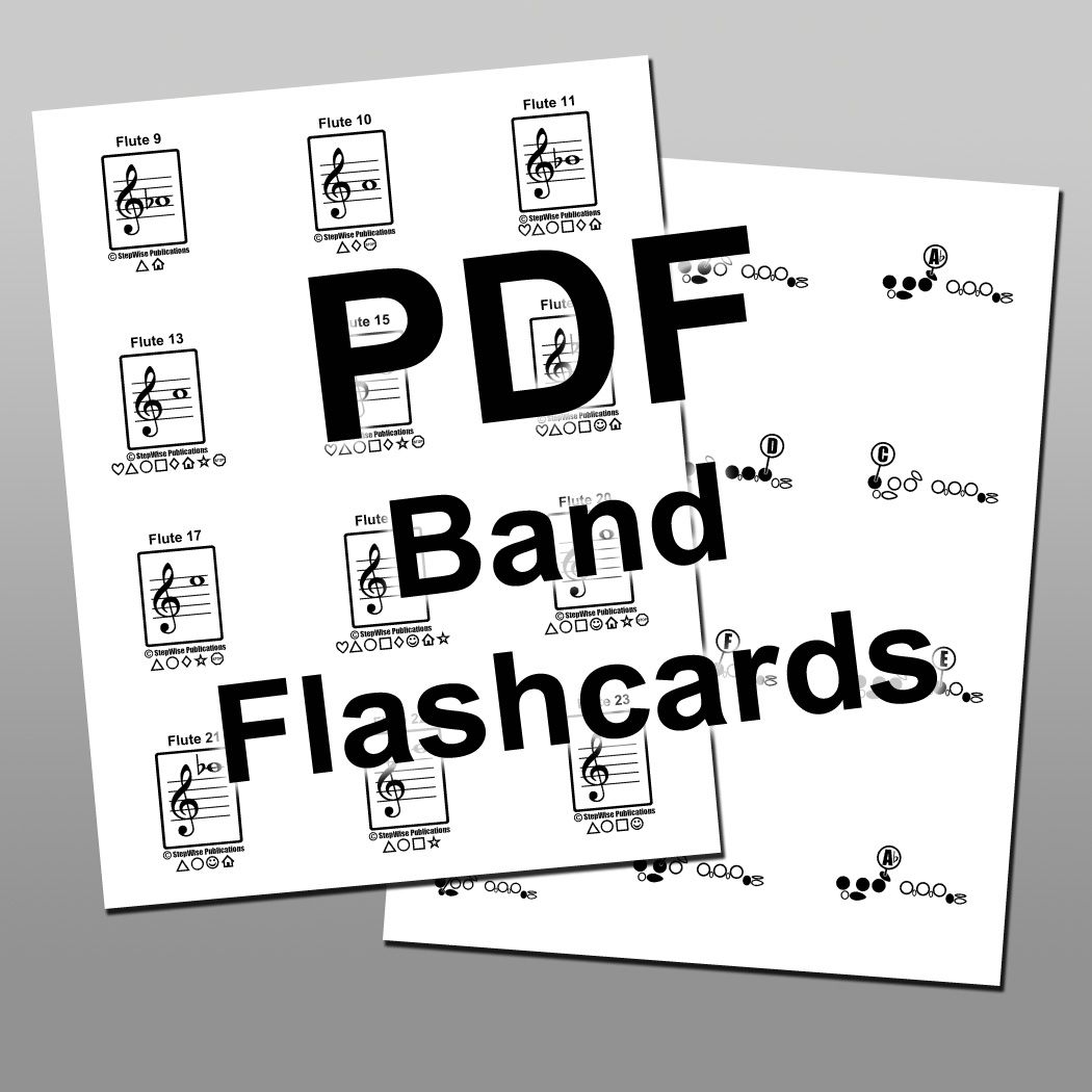 Band Complete Printable Flashcard Set