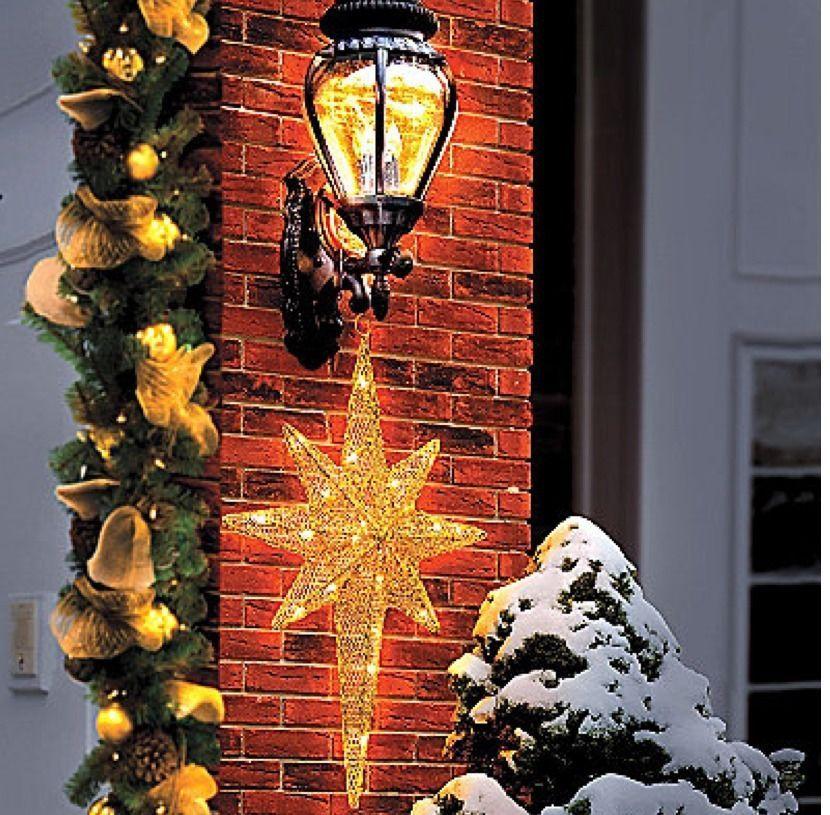 2ft christmas gold bethlehem lighted star outdoor yard lawn nativity 2ft christmas gold bethlehem lighted star outdoor yard lawn nativity decorations mozeypictures Images