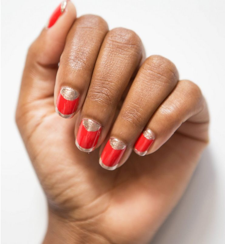 35 Nail Designs That Are So Perfect for Fall | Red nails, Girls ...