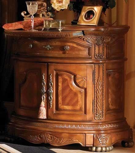 AICO Cortina Bedside Chest by Michael Amini | Furniture ...