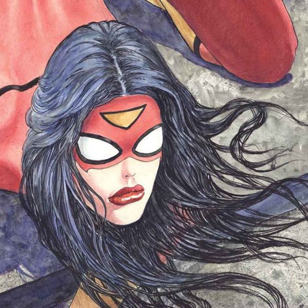 There's Something Very Wrong With This New Spider-Woman Cover