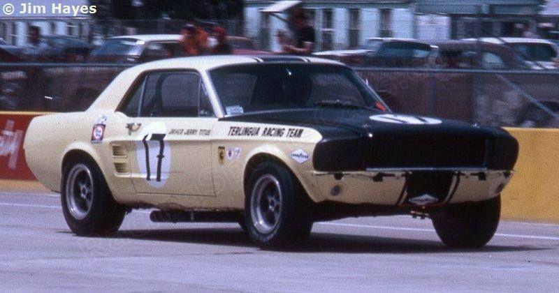 Sebring 4 Hour March 31st 1967 Jerry Titus Ford Mustang