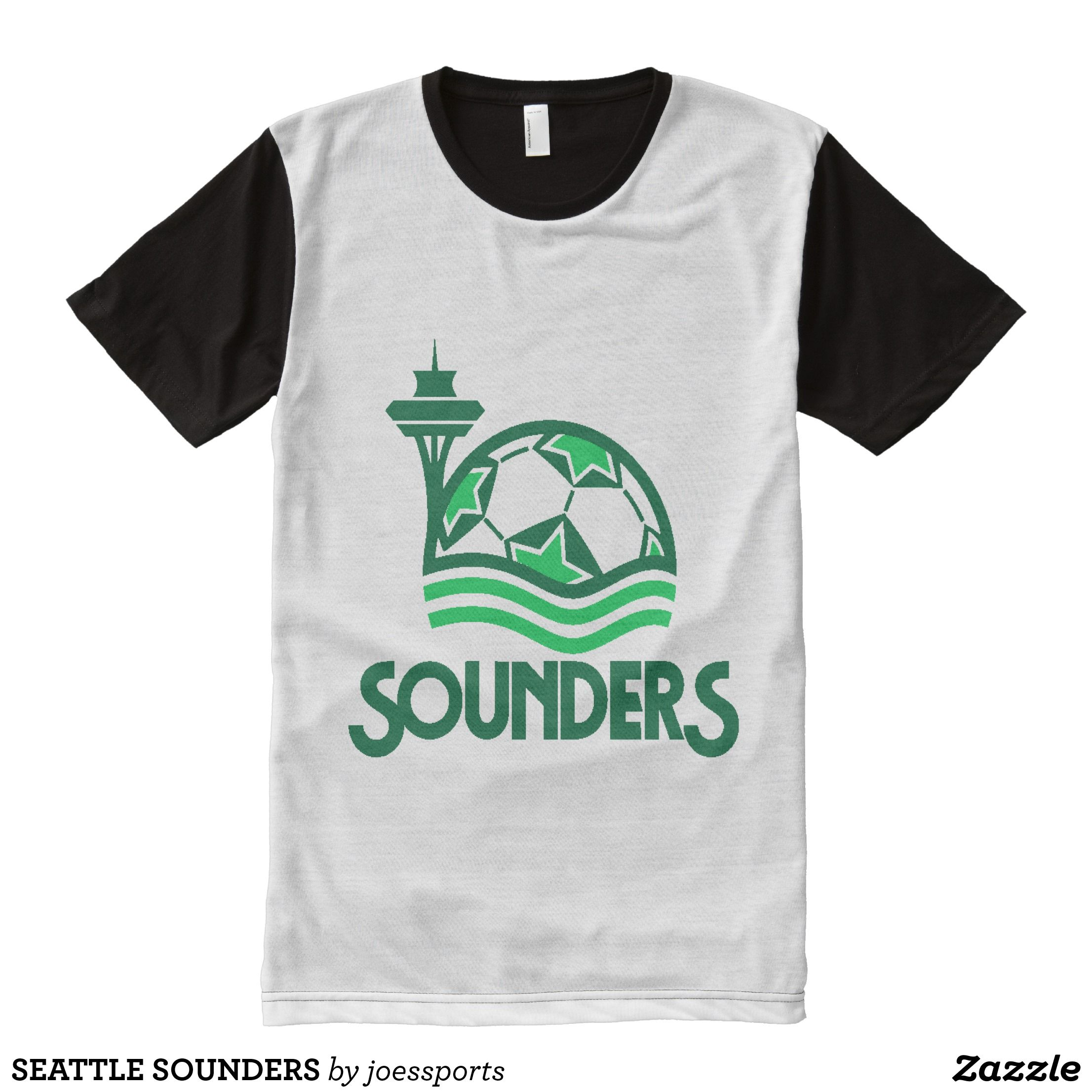 Seattle Sounders All Over Print Shirt Visually Stun Mens All