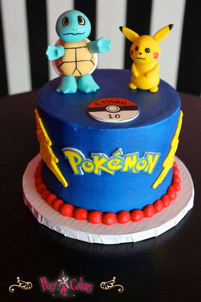pokemon fondant cake - Google Search
