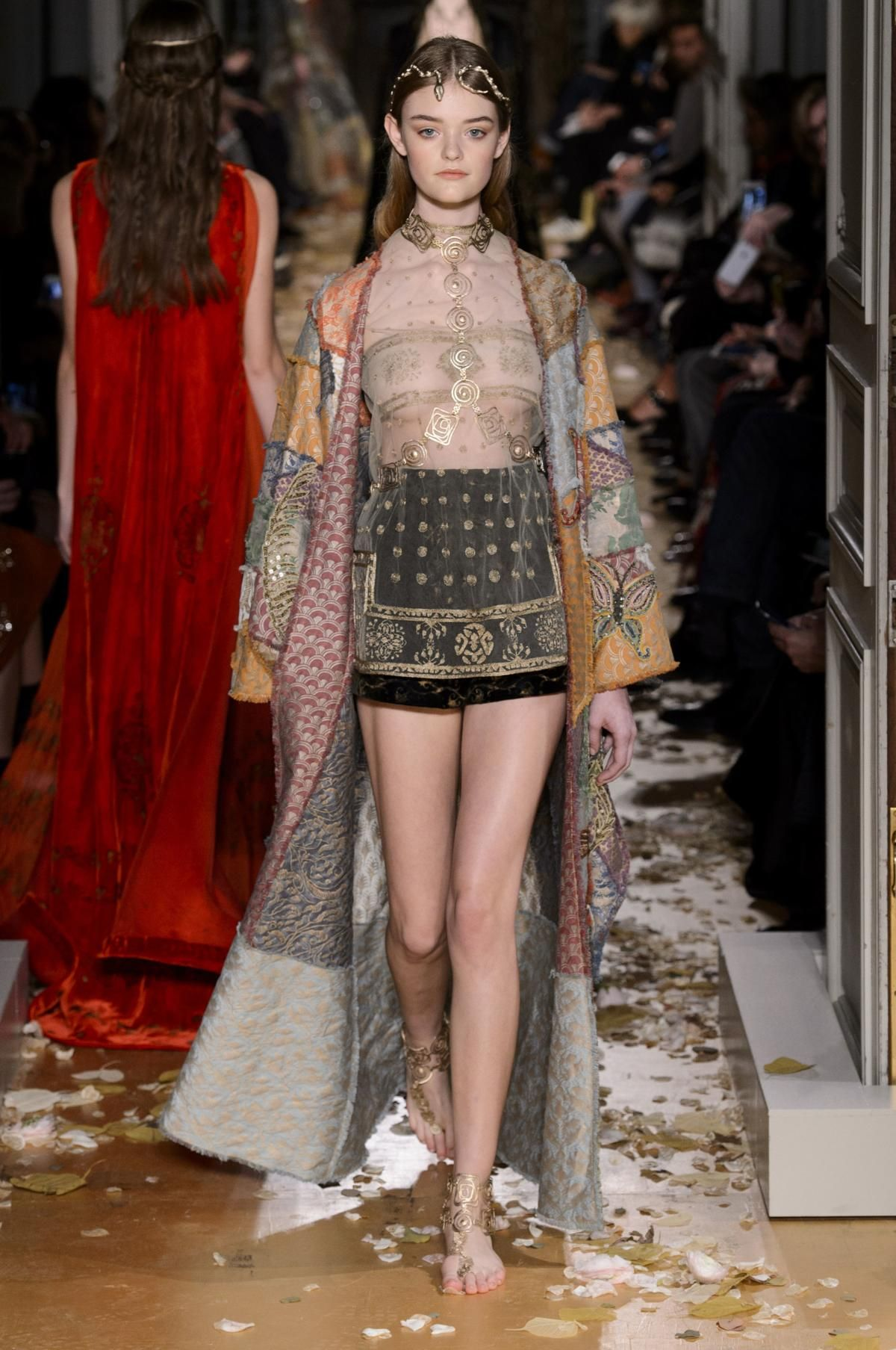 A look from the Maison Valentino spring 2016 couture collection. Photo: Imaxtree.