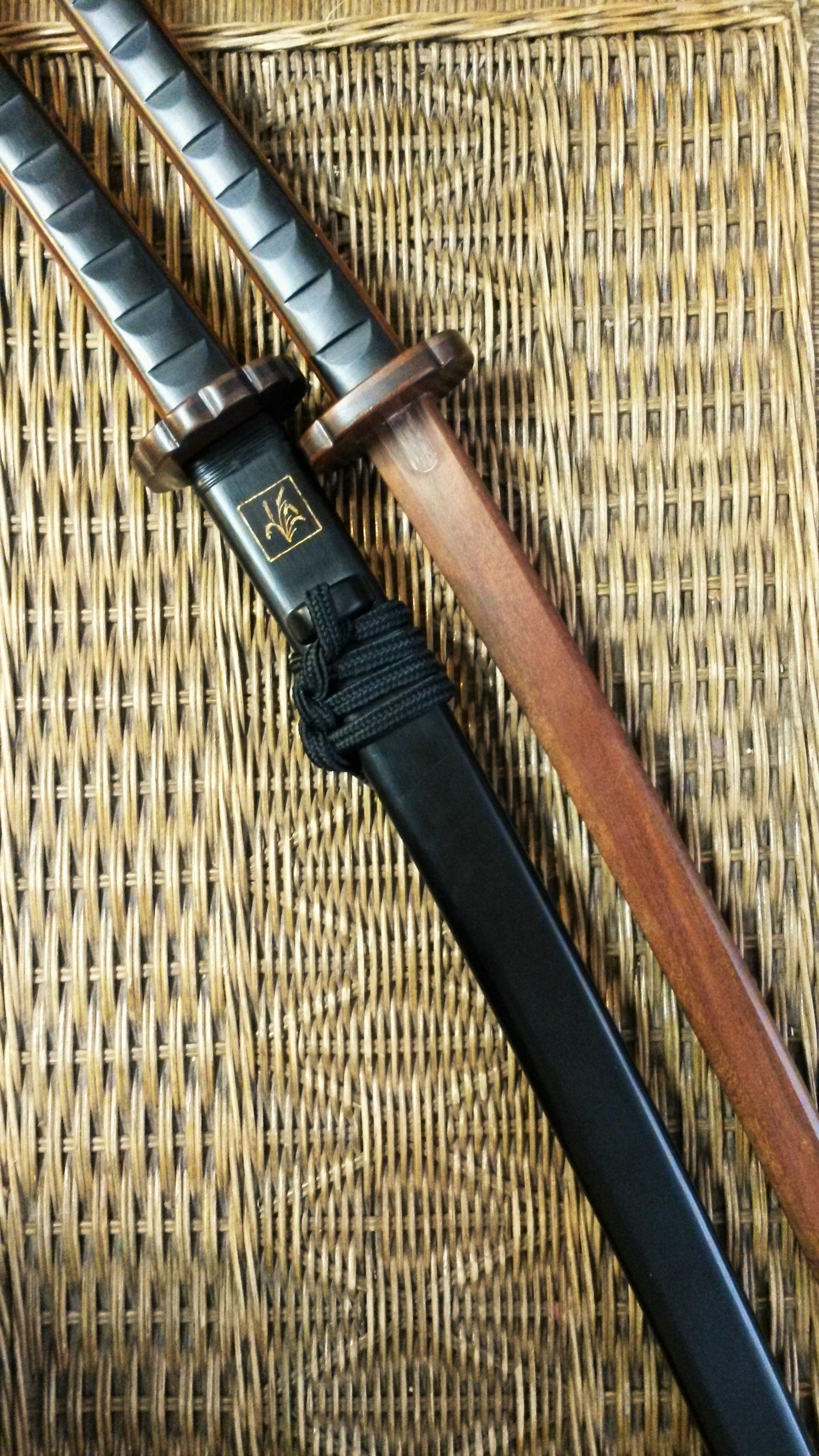 mogami yoshiaki u0027s katana sword hanging miniature papercraft free