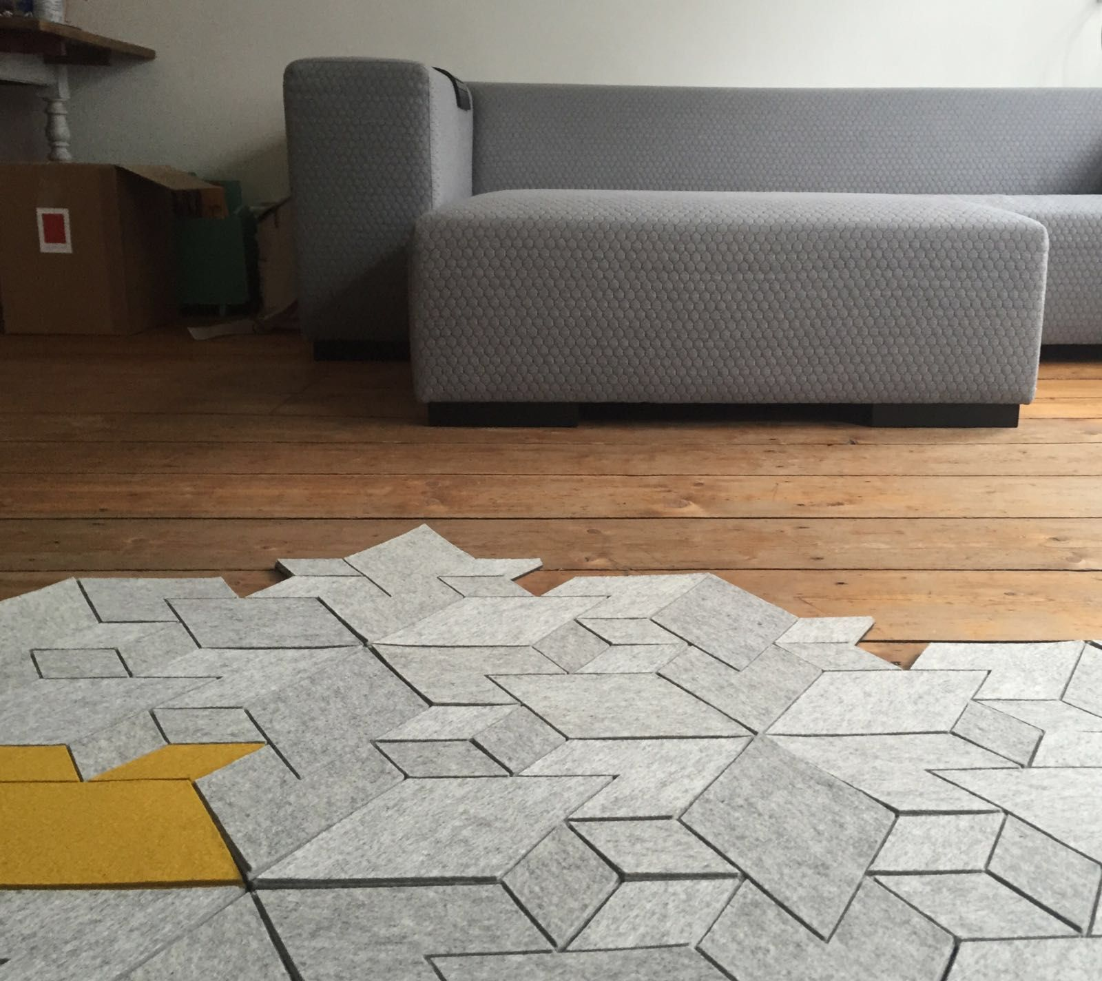 Looking For A Design Carpet That You Can Shape Yourself