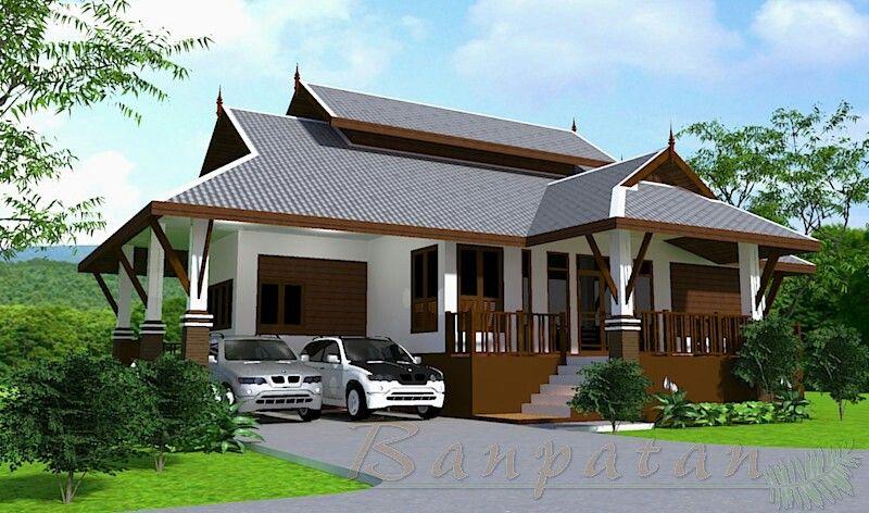 แบบบ้านยกพื้นเล่นระดับ BP27 Thai house architecture Pinterest - fresh blueprint consulting ballarat