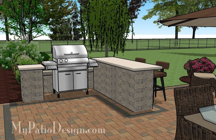 Simple Patio For Entertaining | Patio Designs And Ideas