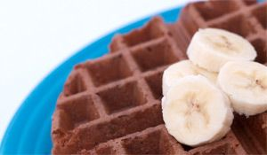Gluten Free Banana Bread Waffles - great for a Sunday brunch for the whole family  ;  )