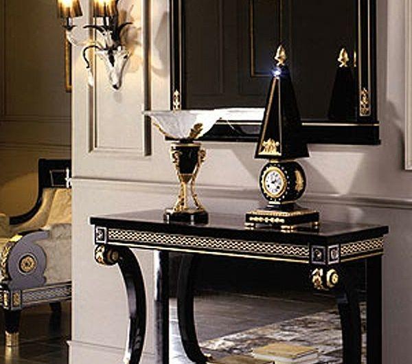 Le Meuble Console D Entree Complete Le Style De Votre Interieur Archzine Fr Consoles Entree Mobilier Classique Salon Italien