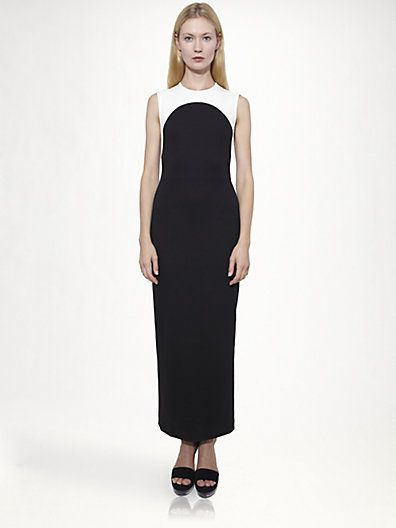 127201d9ec0d Stella McCartney - Long Bi-Color Dress - Saks.com