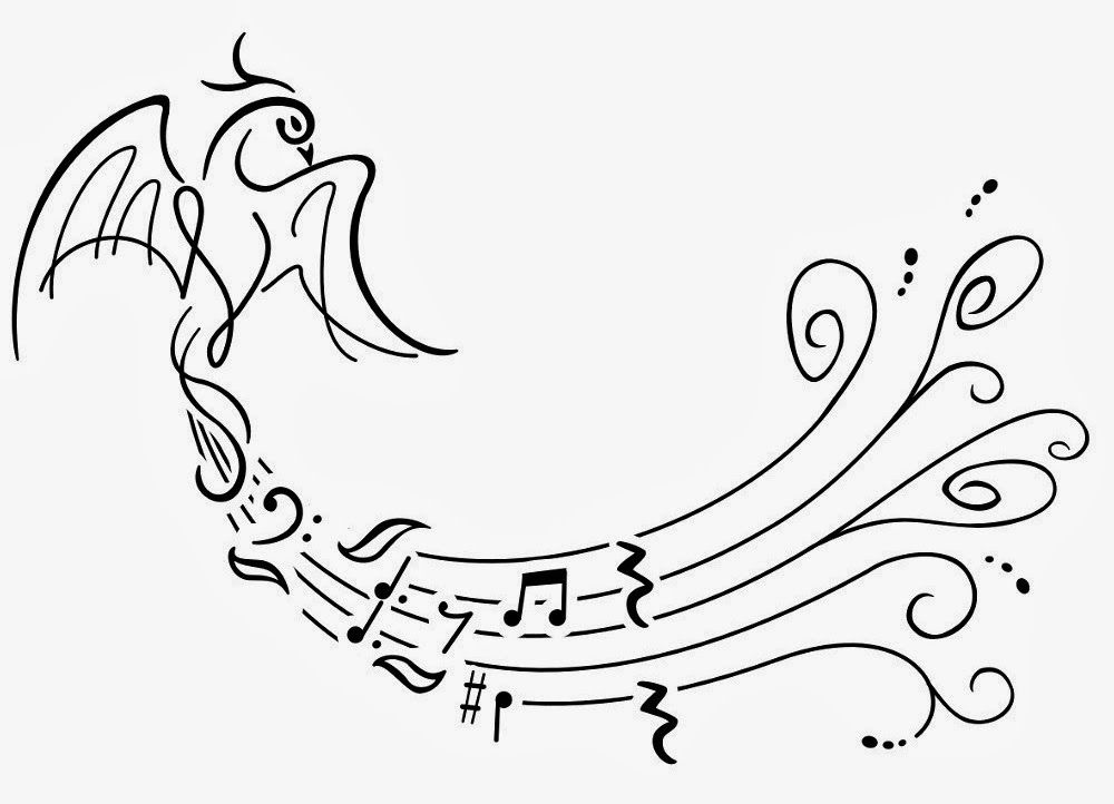 image about Printable Celtic Stencils known as phoenix celtic tattoo Tattoos Ebook: Absolutely free Printable Tattoo