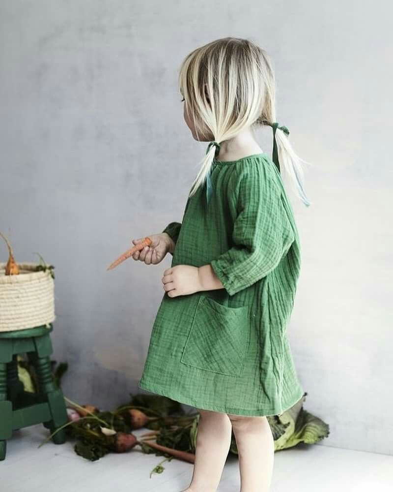 Green dress baby images  green dress  preety little girl  Pinterest  Babies Child and