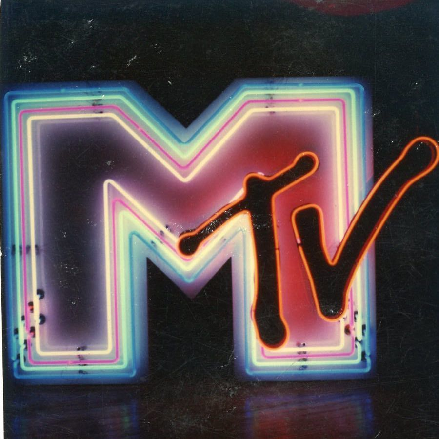 From the archives. We created one of the first mtv logos