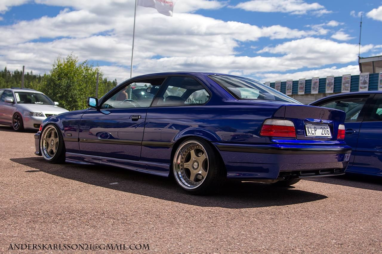 blue bmw e36 coup on oz pg1 hartamnn motorsport wheels. Black Bedroom Furniture Sets. Home Design Ideas