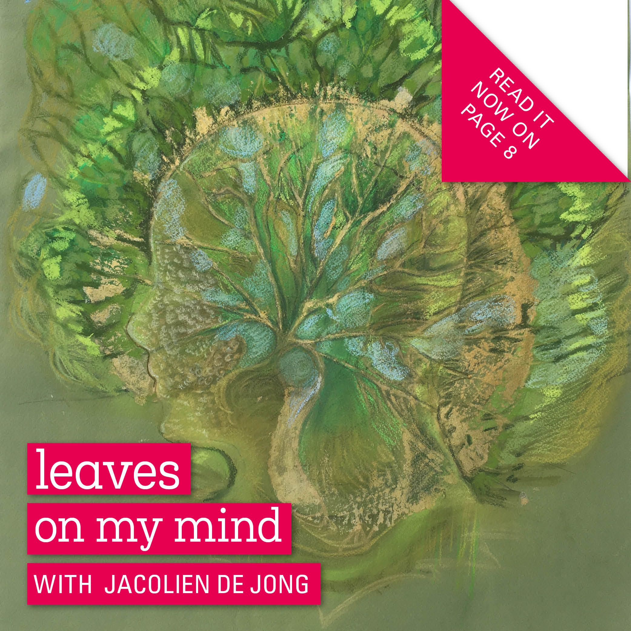 I met Jacolien at the Cultural Sunday in Utrecht. The combination of her art and elements she takes from nature tell a story about human life. Her latest subject is the human mind which she translates with leaves. The soft but true nature of her art is very inviting and makes you look twice.    #drawings #Leavesonmymind #artist #contemporaryart #gallery #artgallery #artcollective #modernart #arte #arts #collecting #artisttowatch #collectart #elements #designerscollective #leaves #trees