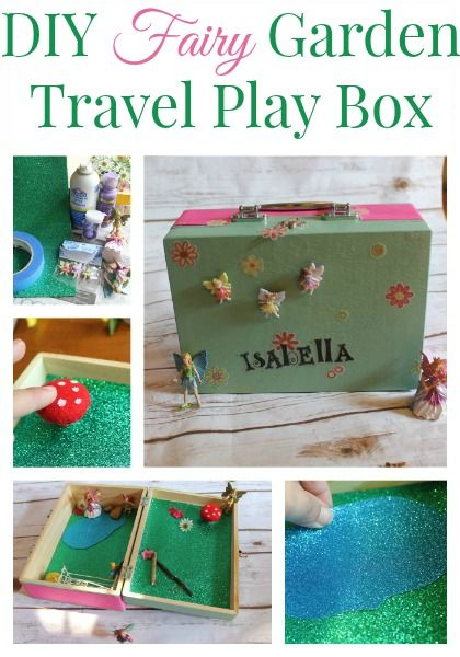 How To Make A Diy Fairy Garden Travel Box Use This Easy