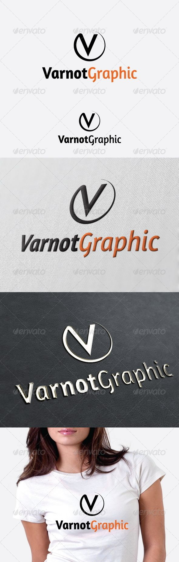 Varnot Graphic Logo Template GraphicRiver Re sizable