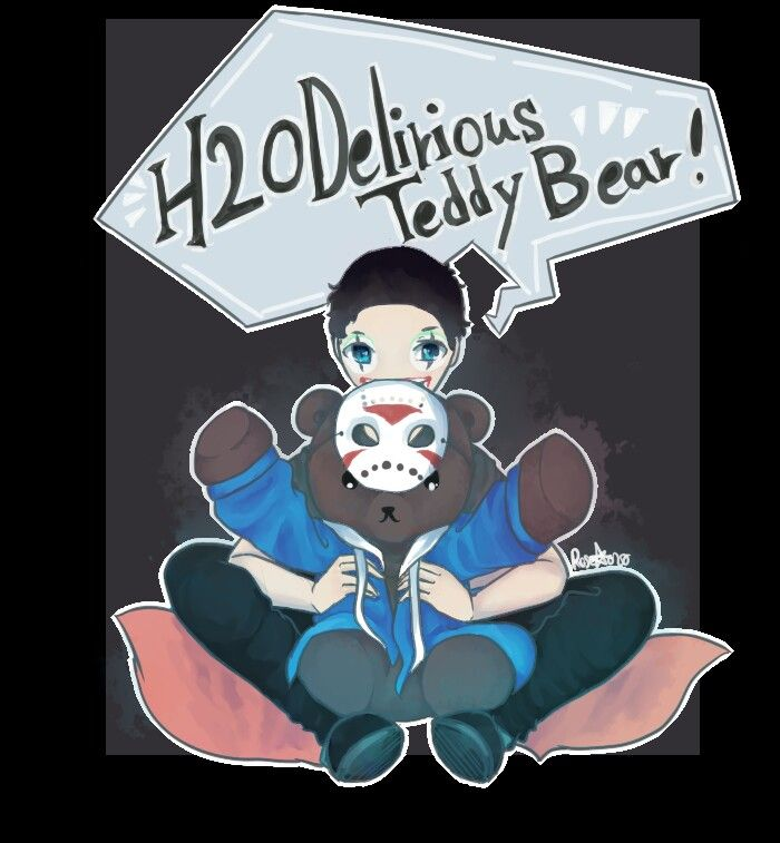 Look at this cute fanart for H2ODelirious, and Teddy Bear ... H20 Delirious Fan Art