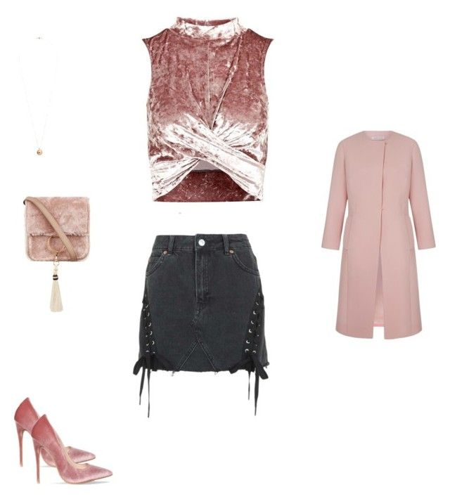"""""""Untitled #6063"""" by explorer-14576312872 ❤ liked on Polyvore featuring Topshop, Dorothy Perkins and Brother Vellies"""