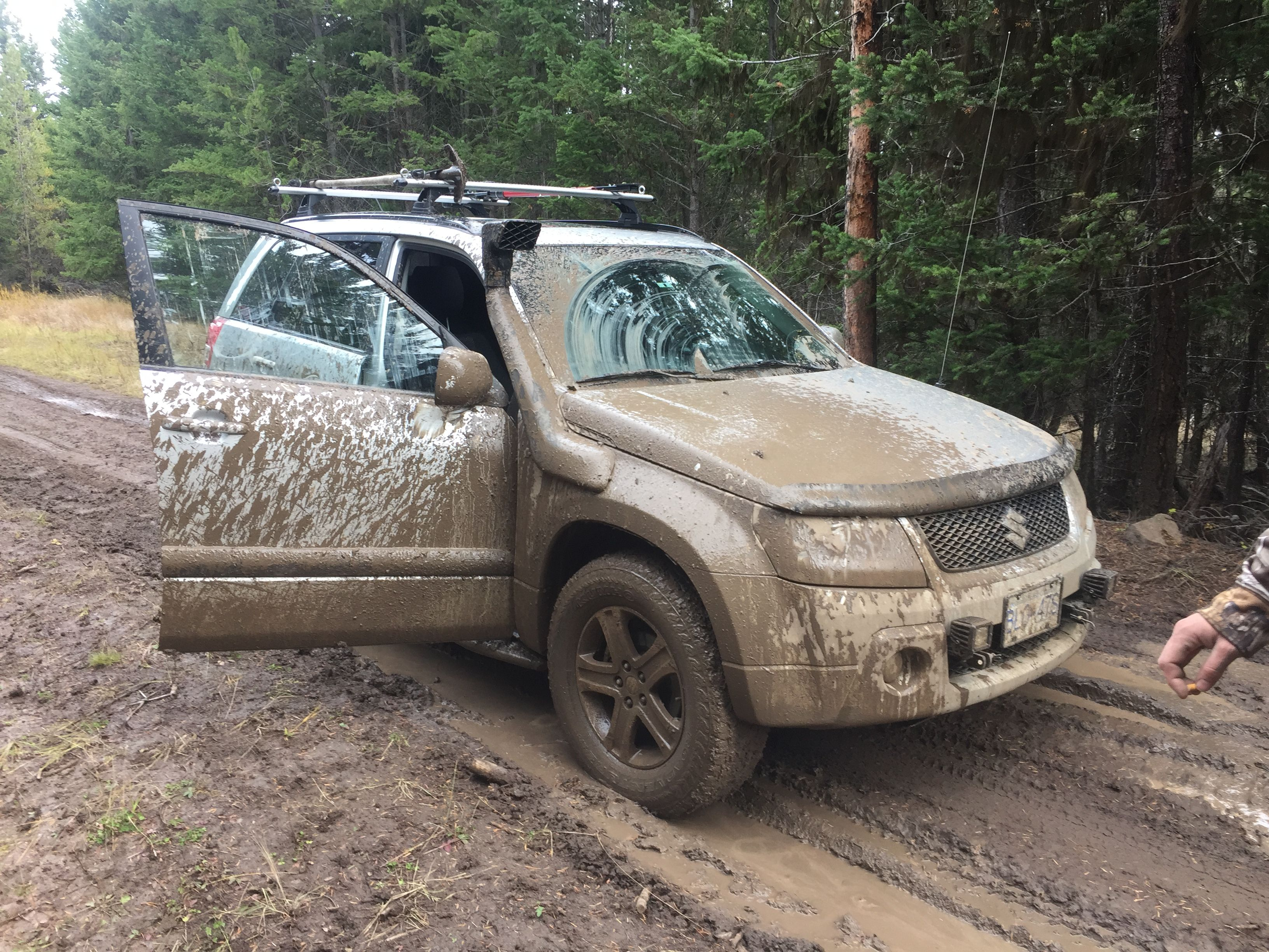 Suzuki grand vitara offroad test