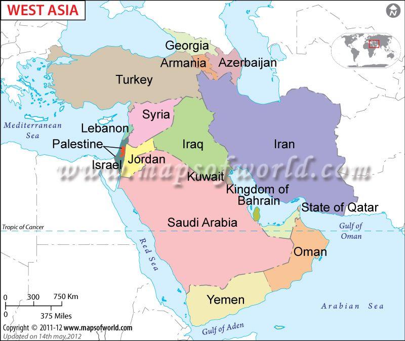west asian map jpg 1200x900