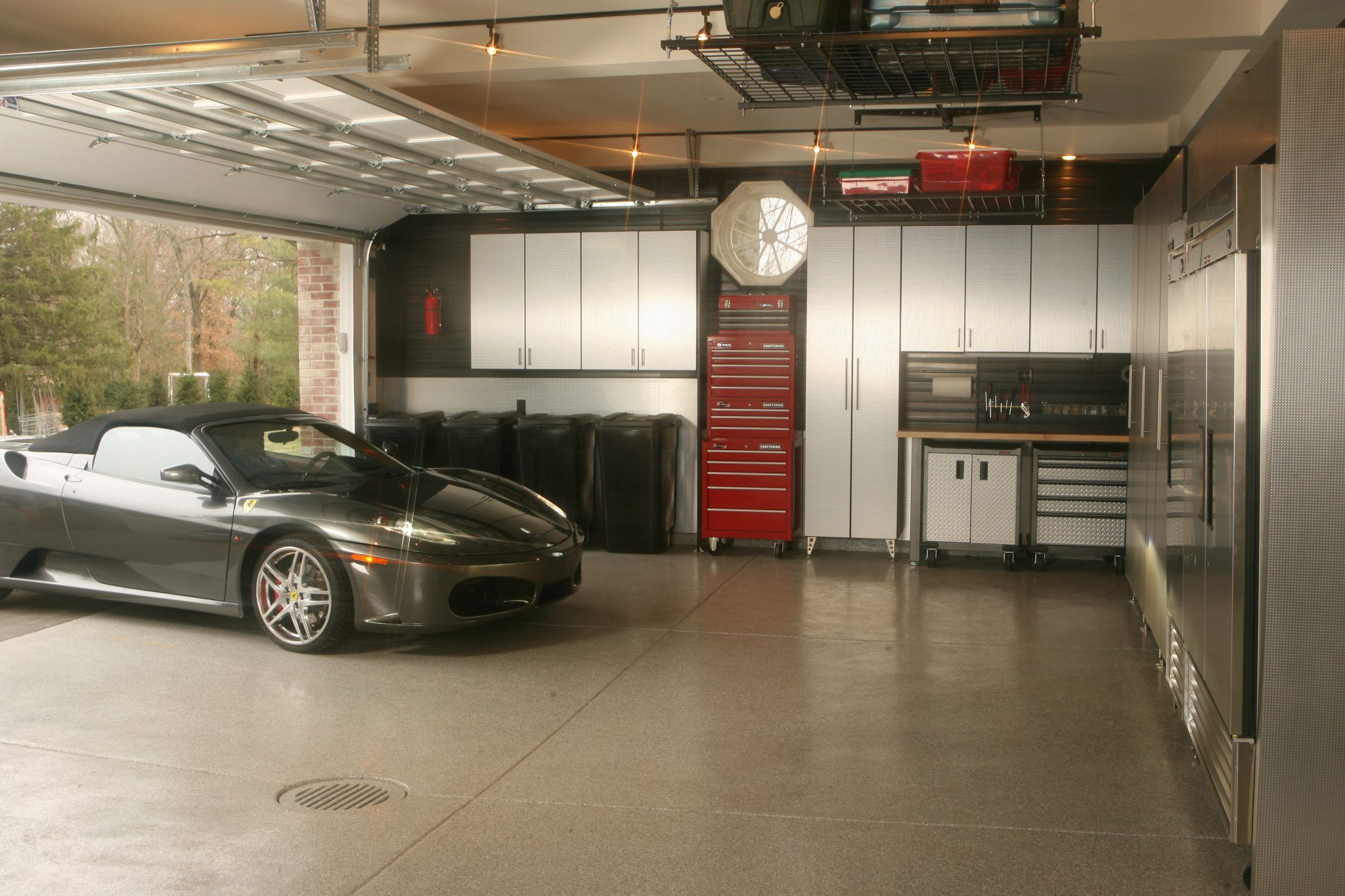 Supercars Gallery 2 Car Garage Interior Design Ideas