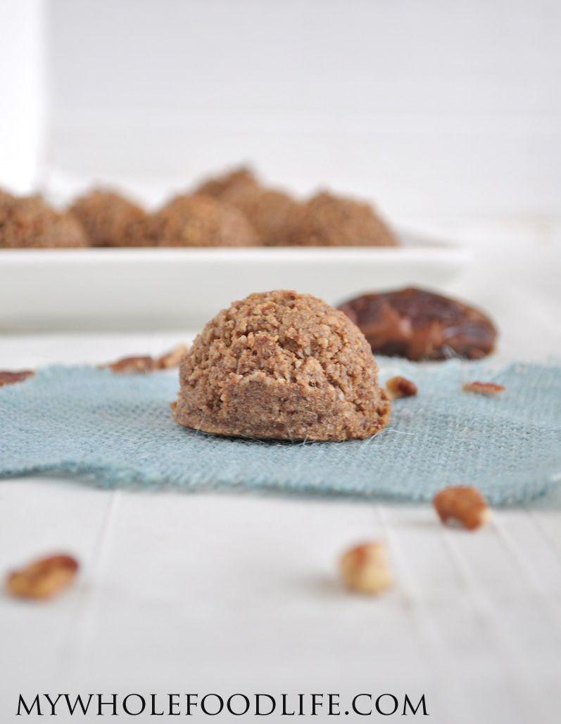Flourless Cinnamon Pecan Cookies All You Need Is 4 Ingredients