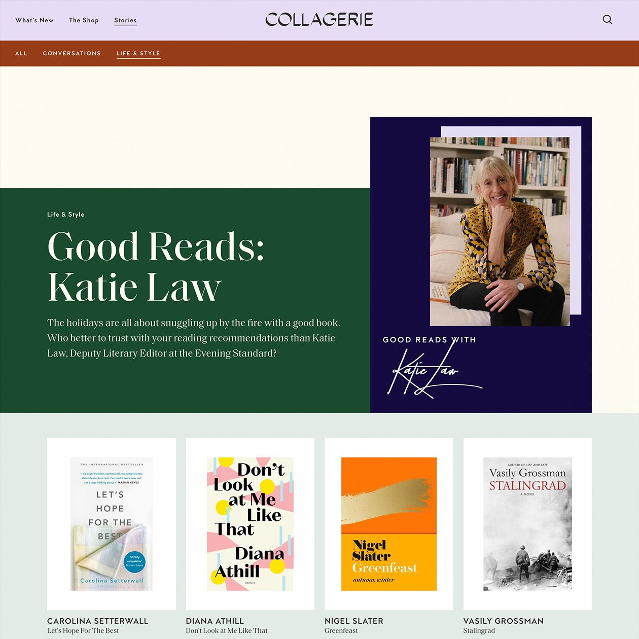 Collagerie Typewolf Shopify Website Design Entrepreneur Website Reading Recommendations