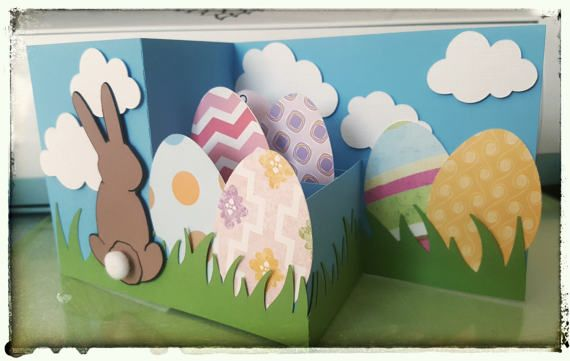 Easter Bunny Z Box Pop Up Card Svg By Jandgsvgcut On Etsy Cards Crafts Red Roses