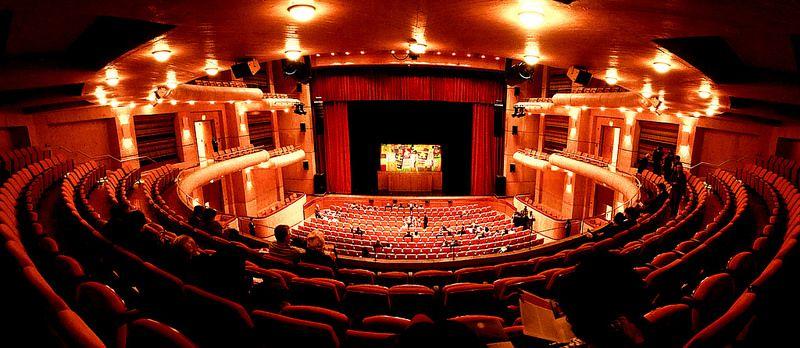 Teatro Mayor Julio Mario Santo Domingo. Bogotá, Colombia.