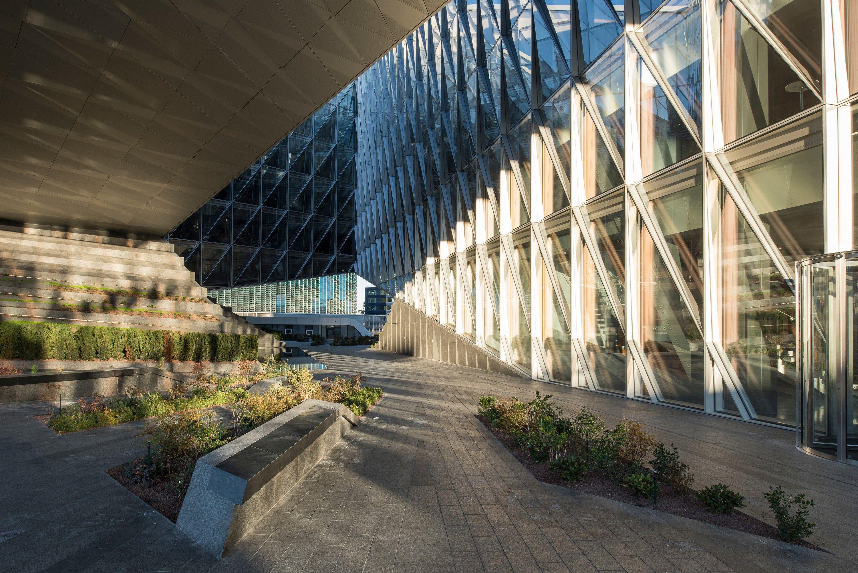 Jti Headquarters Landscape Concept Facade Architecture