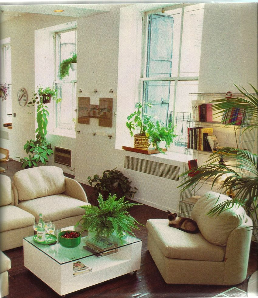 Better Homes and Gardens New Decorating Book, 1981 | living room ...