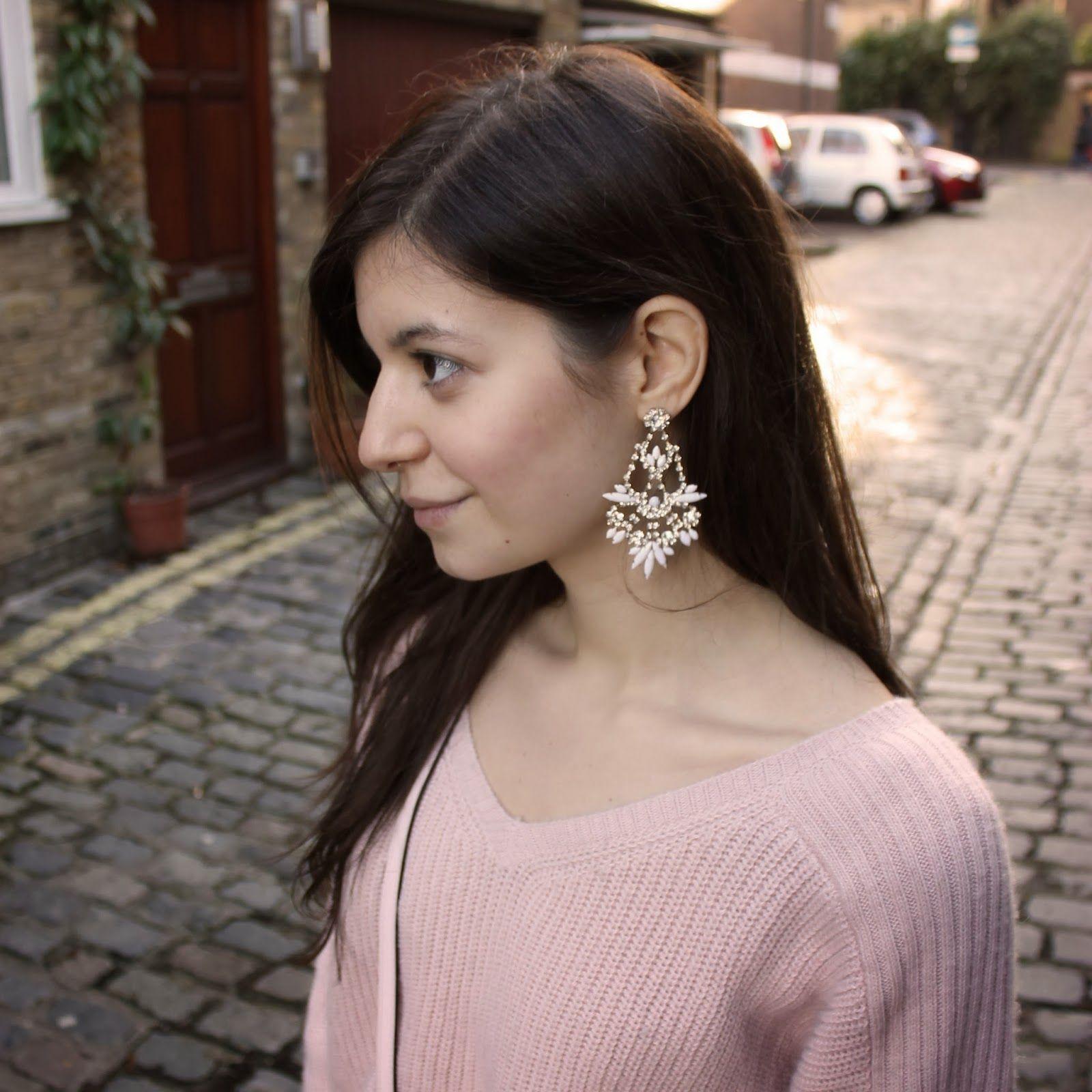 """Accessorize """"Baroness Sparkle Chandelier"""" earrings"""