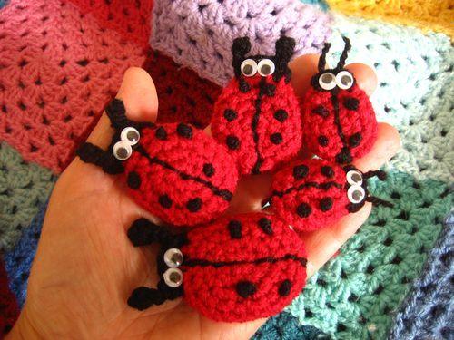Free Pattern] Cute Ladybird (Ladybug) Crochet Pattern | Häckeln ...