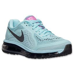 designer fashion d21ff 28a57 Black · Women s Nike Air Max 2014 Running Shoes   FinishLine.com   Glacier  Ice Black