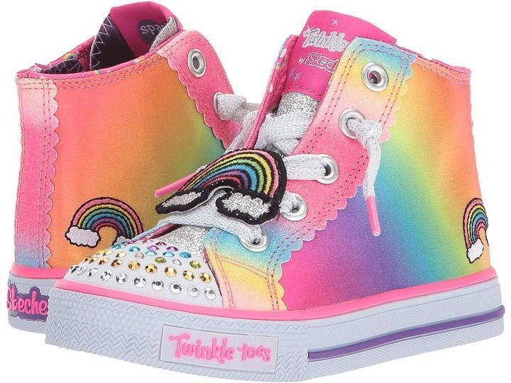 Skechers Twinkle Toes: Shuffles Patch Party 10868N Lights