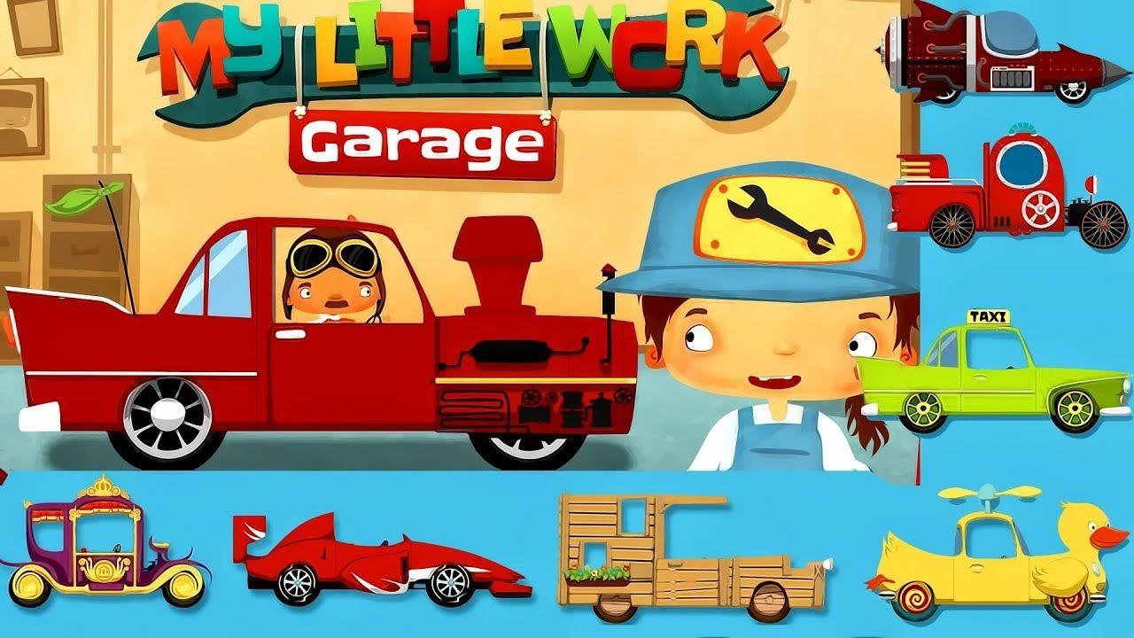 My Little Work Garage Games Kids Fun Kids app, Games