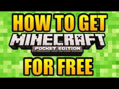 minecraft p e free download