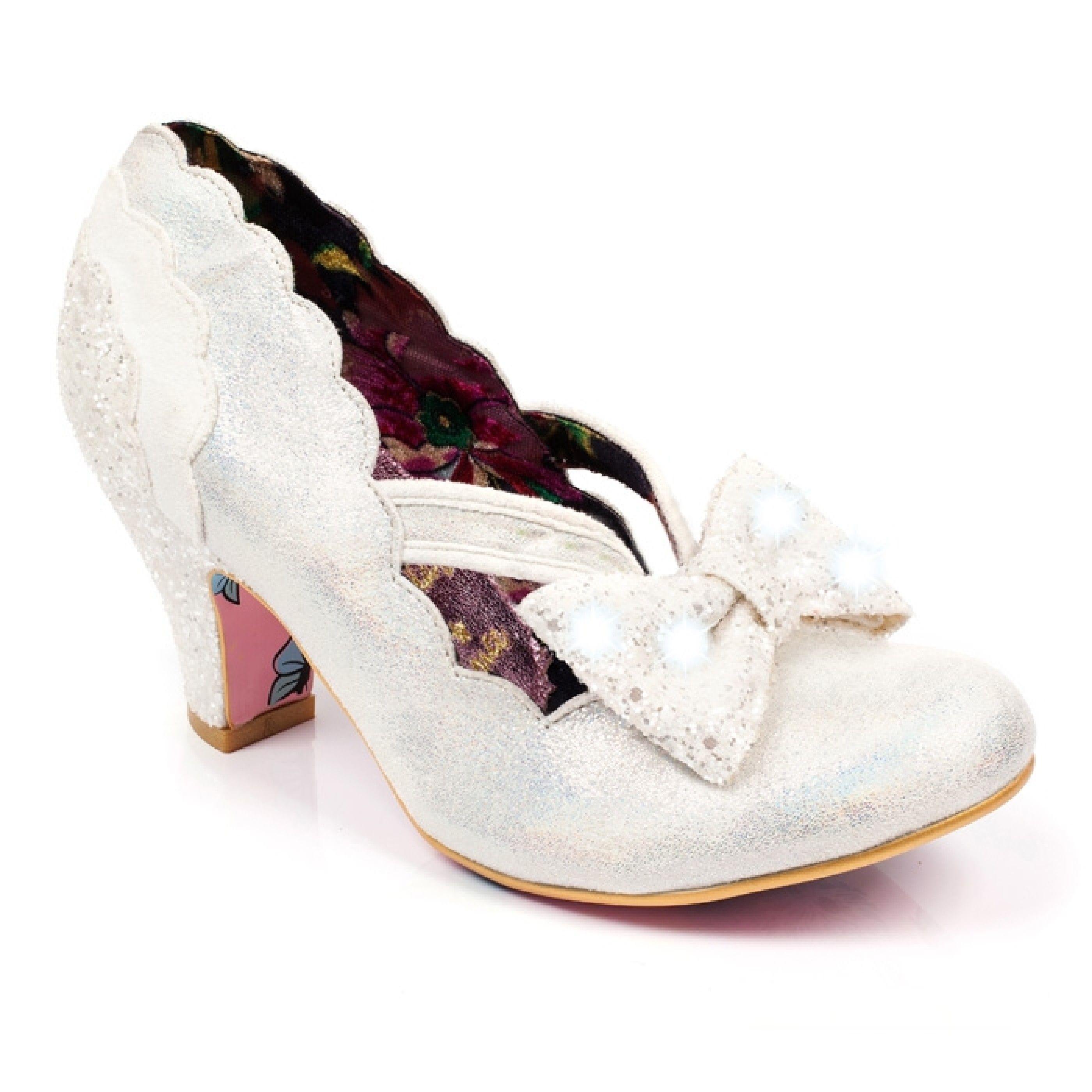 06e61a4b888 ☆ Irregular Choice - Twinkle Heels (in White) ☆