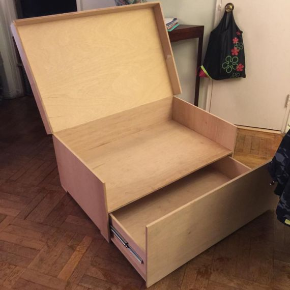 Youu0027ll Want to Store Your Sneakers in This Gigantic Nike Shoe Box & Youu0027ll Want to Store Your Sneakers in This Gigantic Nike Shoe Box ... Aboutintivar.Com