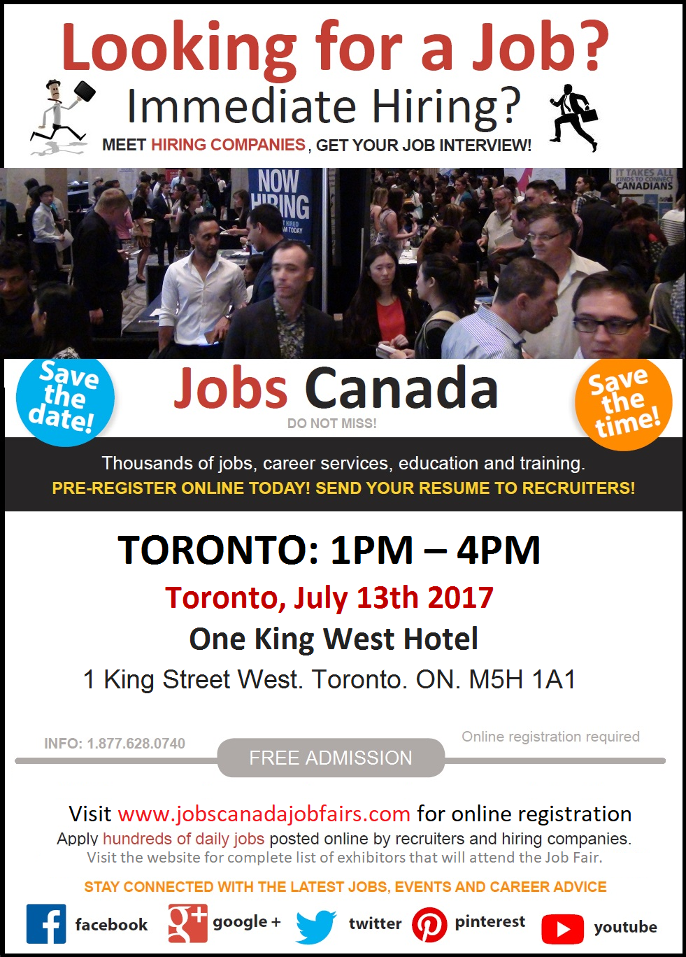 Looking for work? Don't miss the Jobs Canada Toronto