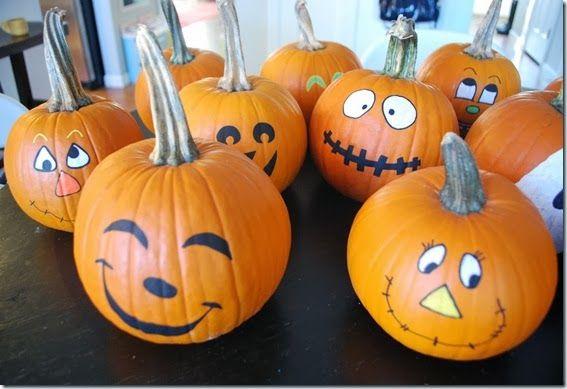 Painted Pumpkin Faces Google Search Pumpkin Face Paint Pumpkin Faces Cute Pumpkin Faces